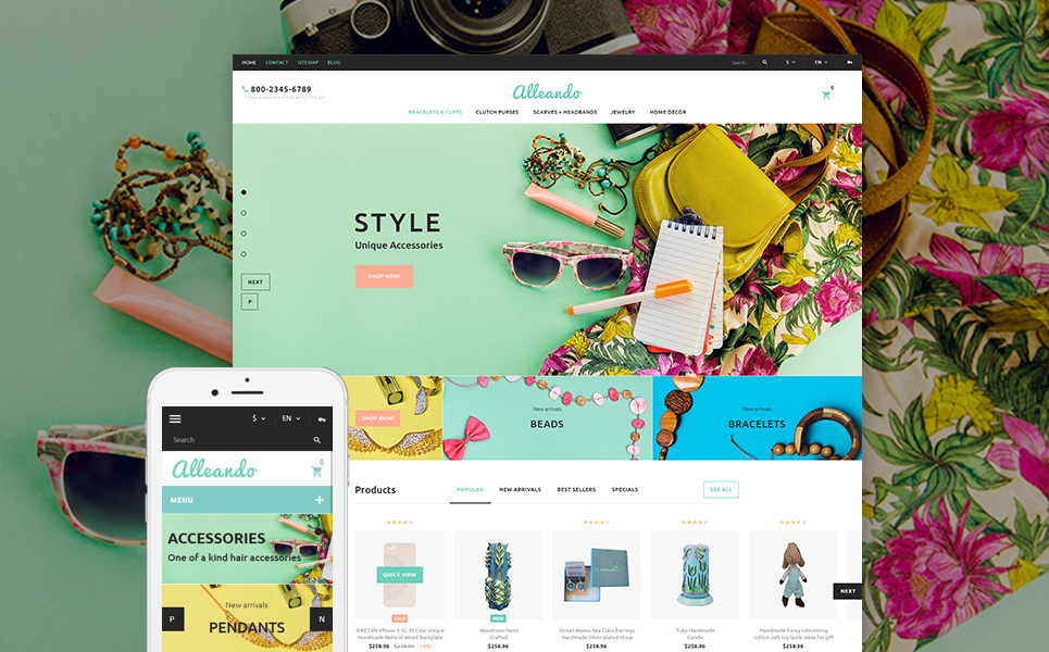 Decor Accessories Responsive PrestaShop Theme