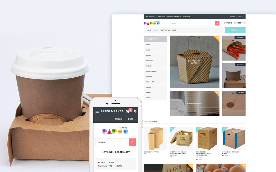 Packaging OpenCart Template