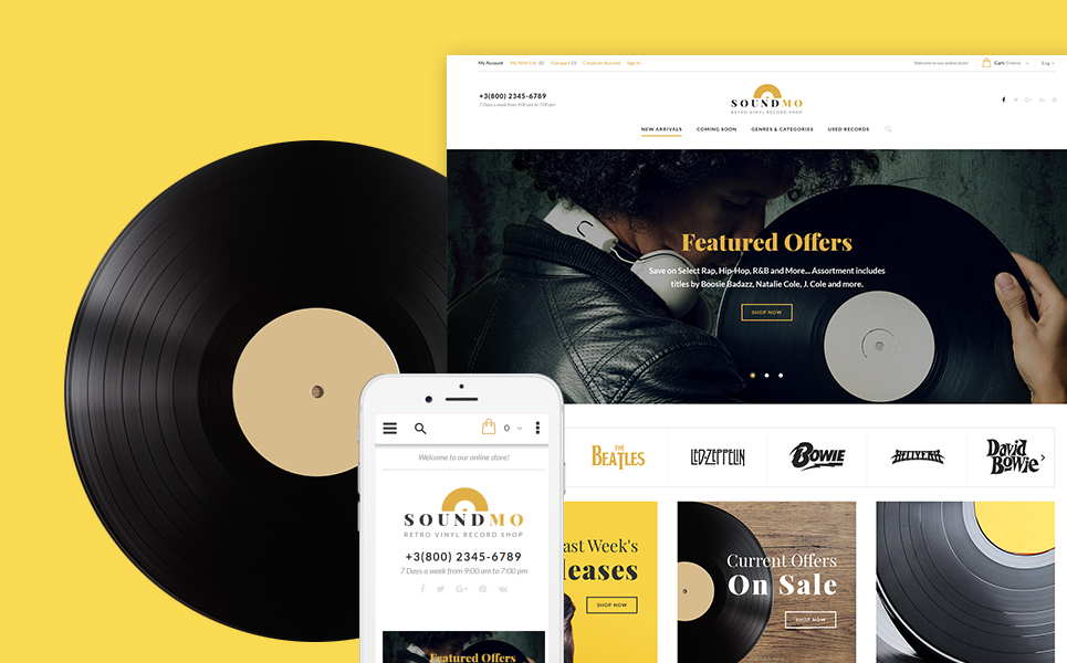 Audio Products Magento Theme