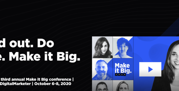 Reserve Your Free Seat For Make It Big 2020